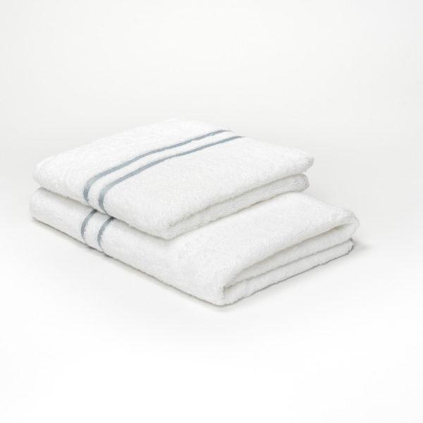 serviette petite moyenne gris clair